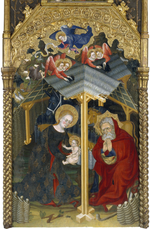 Guerau Gener - Nativitat - 1407-1411