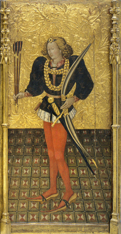 Jaume Ferrer - Sant Sebastià - Cap a 1450