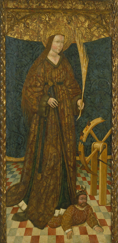 Anònim. Aragó - Santa Caterina - Tercer quart del segle XV