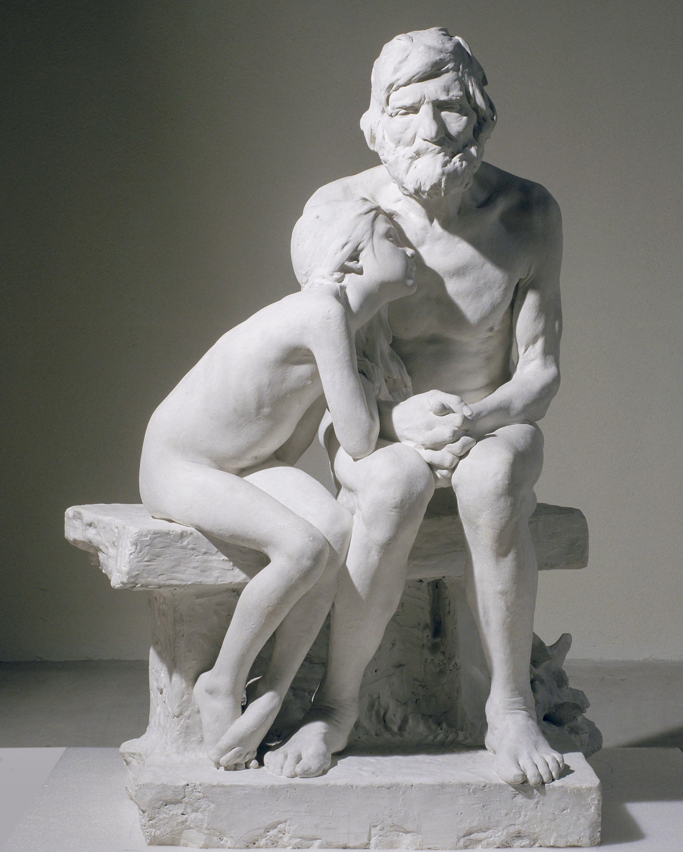 Miquel Blay - Els primers freds (guix) - 1892