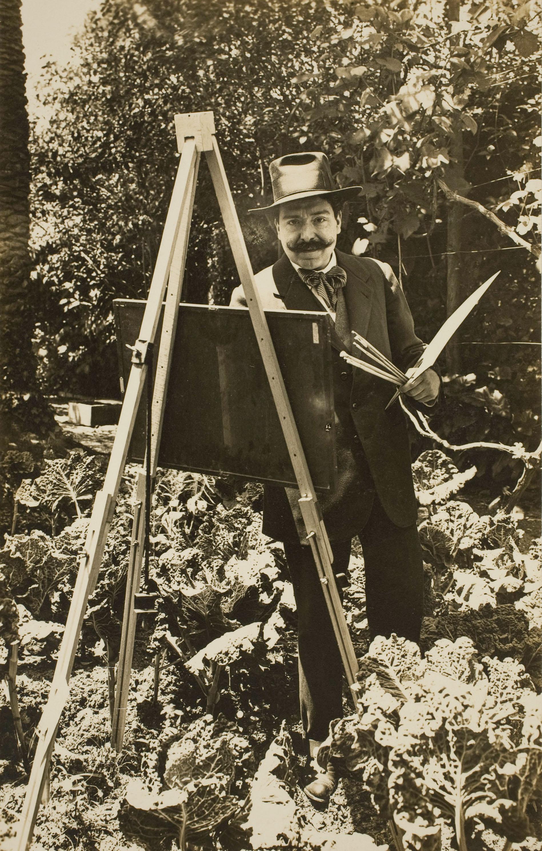 Francesc Serra Dimas - Retrat de Nicolau Raurich - 1904