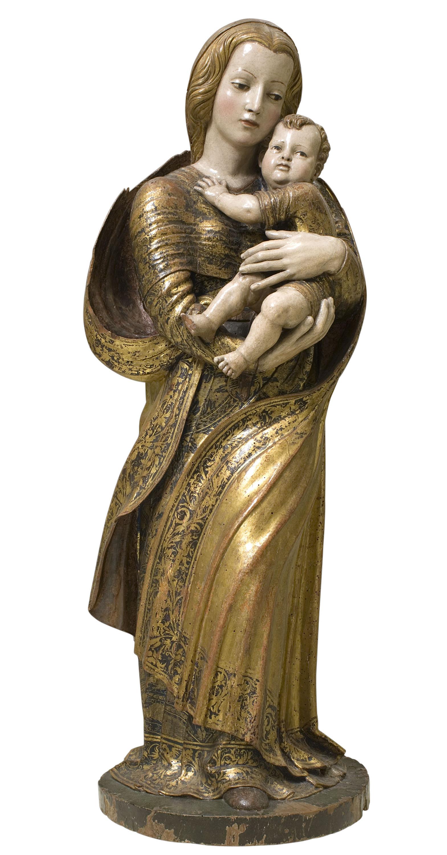 Diego de Siloé - Mare de Déu amb el Nen - Entre 1530-1540