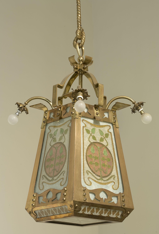 Frederic Vidal - Lámpara de techo - Hacia 1900