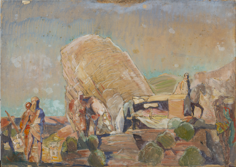 Francesc Labarta - Almansor a Medinaceli - Cap a 1928-1929