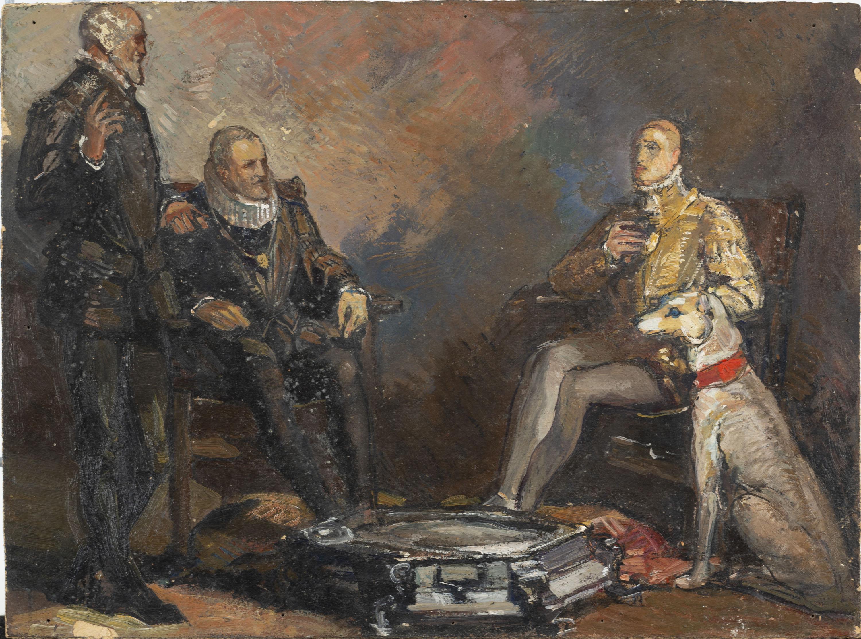 Francesc Labarta - El duc d'Alba - Cap a 1928-1929
