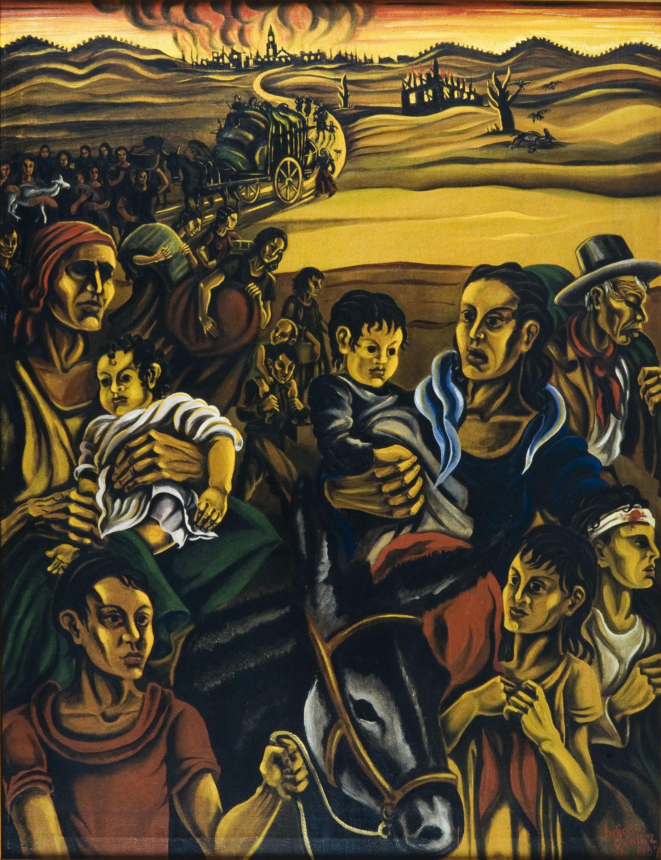 Helios Gómez Rodríguez - Evacuation - 1937