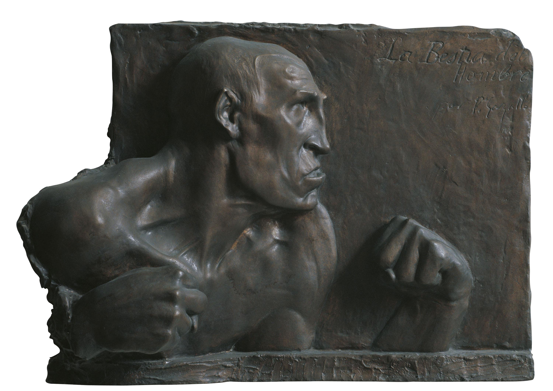 Pablo Gargallo - La bestia del hombre - 1904