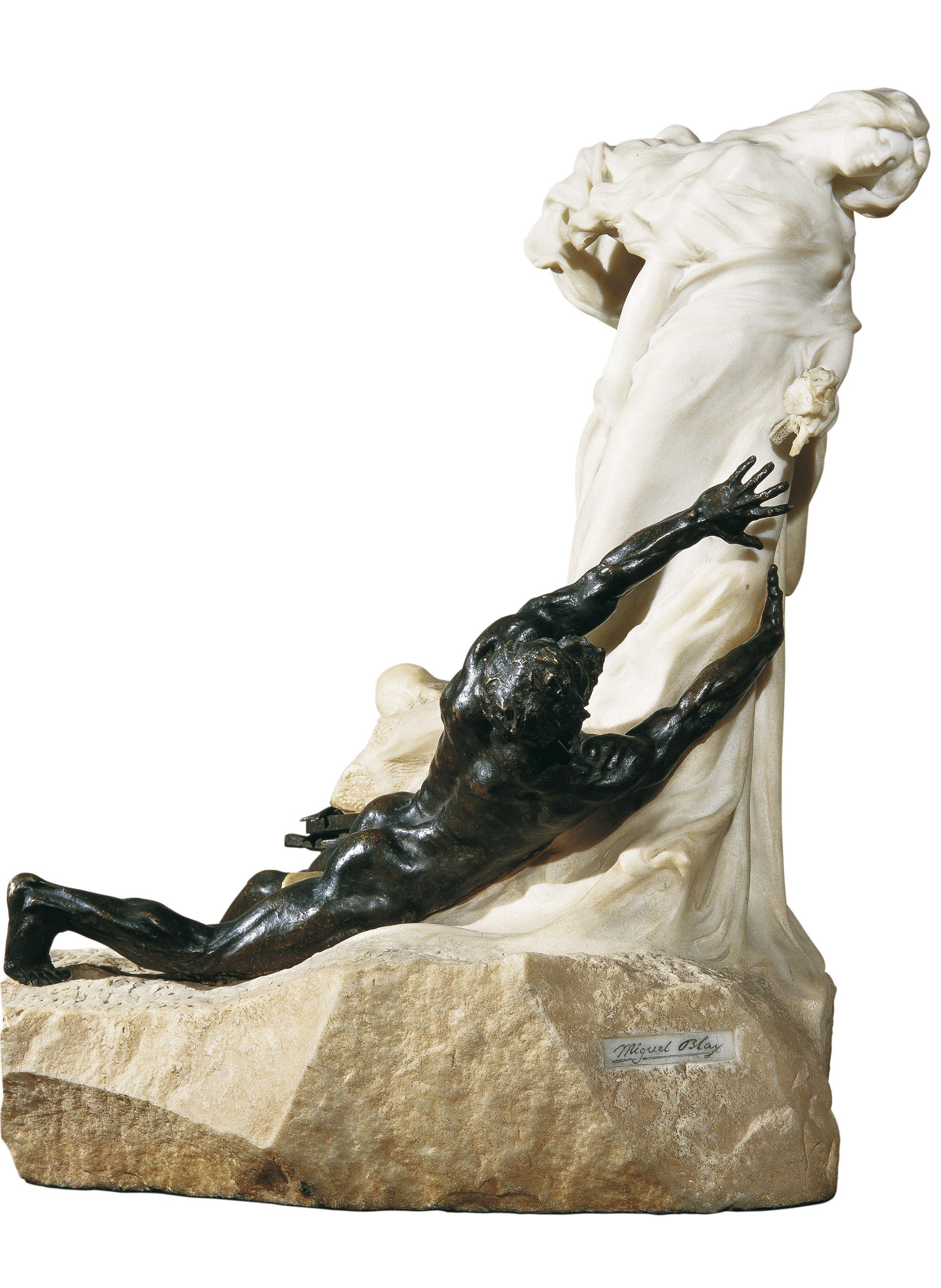 Miquel Blay - Persiguiendo la ilusión - París, 1902