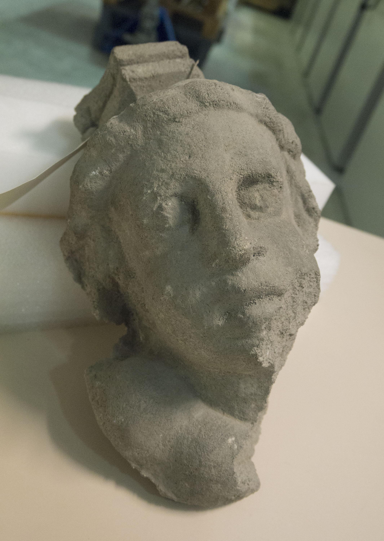 Anònim. Catalunya - Mènsula amb bust masculí - Primera meitat del segle XVI