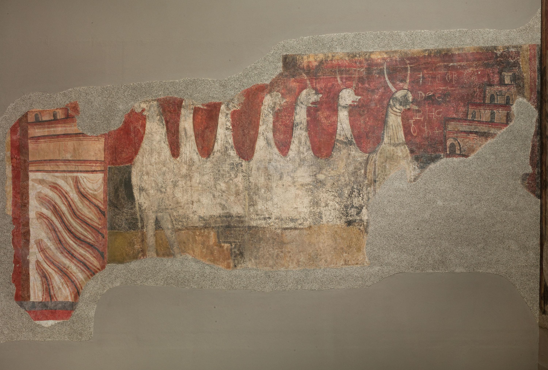 Mestre de Boí - Torre i bèstia apocalíptica de Boí - Cap a 1100