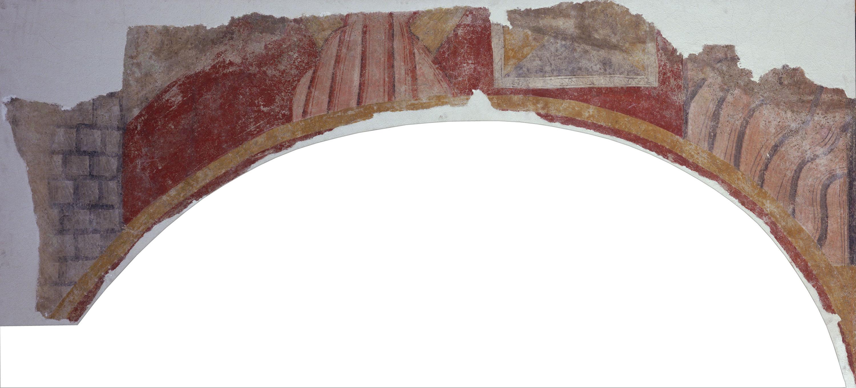 Mestre de Boí - Extradós d'un arc de Boí - Cap a 1100