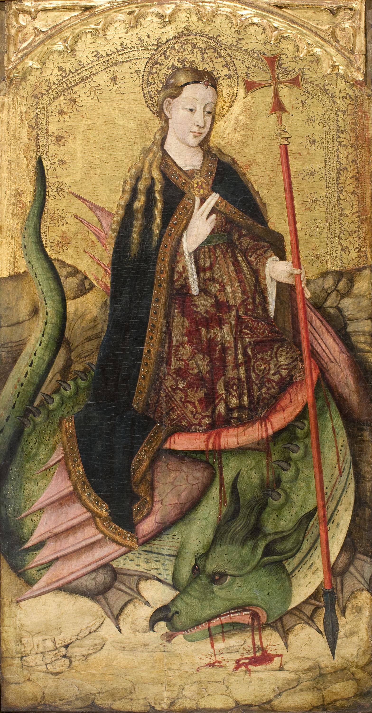 saint margaret museu nacional d art de catalunya
