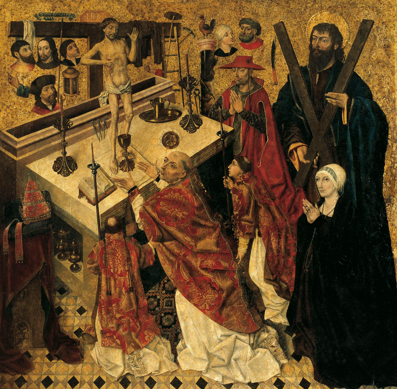 Diego de la Cruz - Missa de sant Gregori - Anterior a 1480