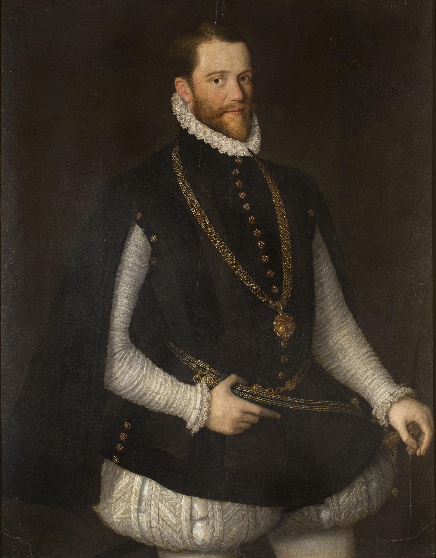 Anton van Dashorst Mor - Retrat de cavaller de l'orde de sant Jaume - Segona meitat del segle XVI