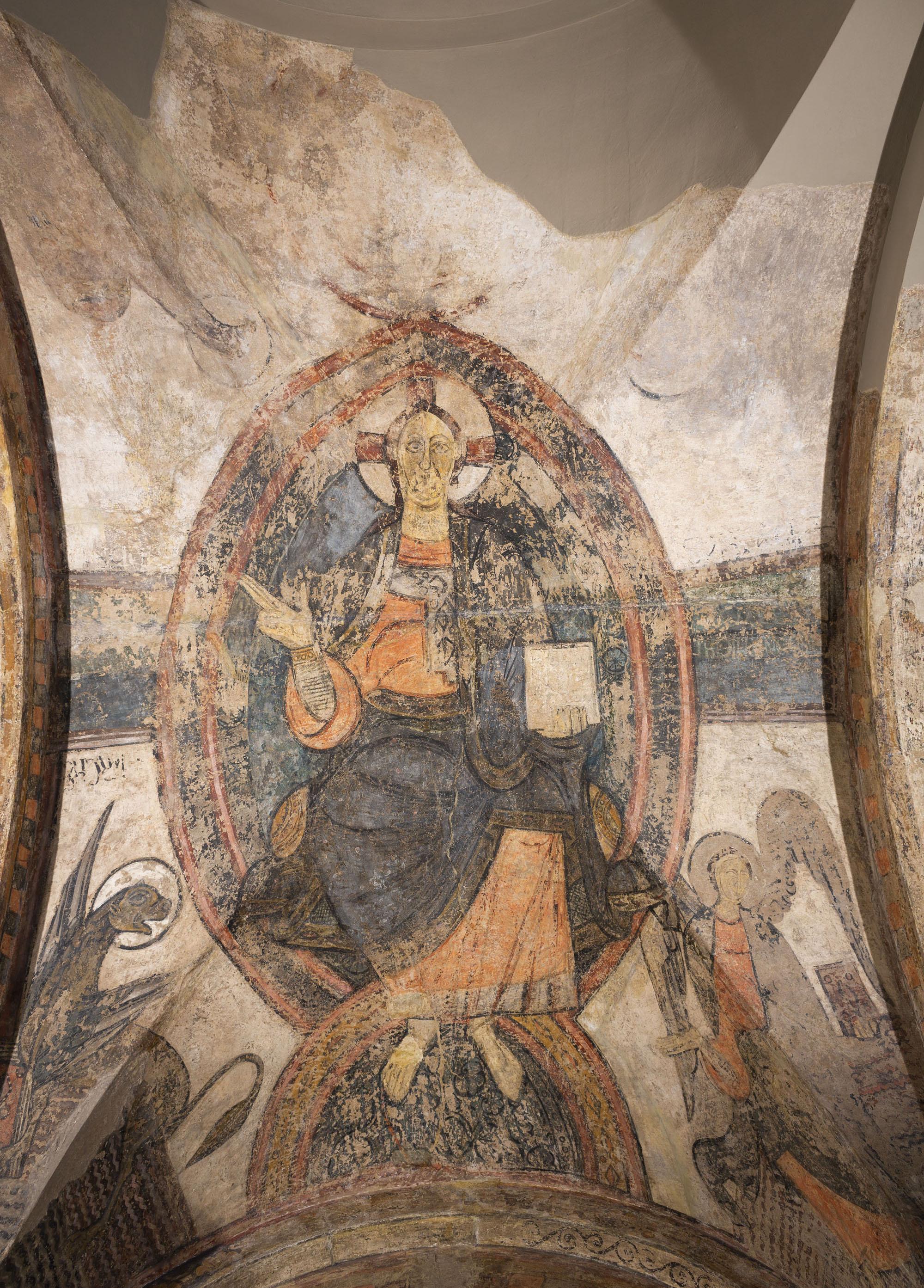 Anònim. Catalunya - Maiestas Domini i Tetramorf de Cardona - Cap a 1200