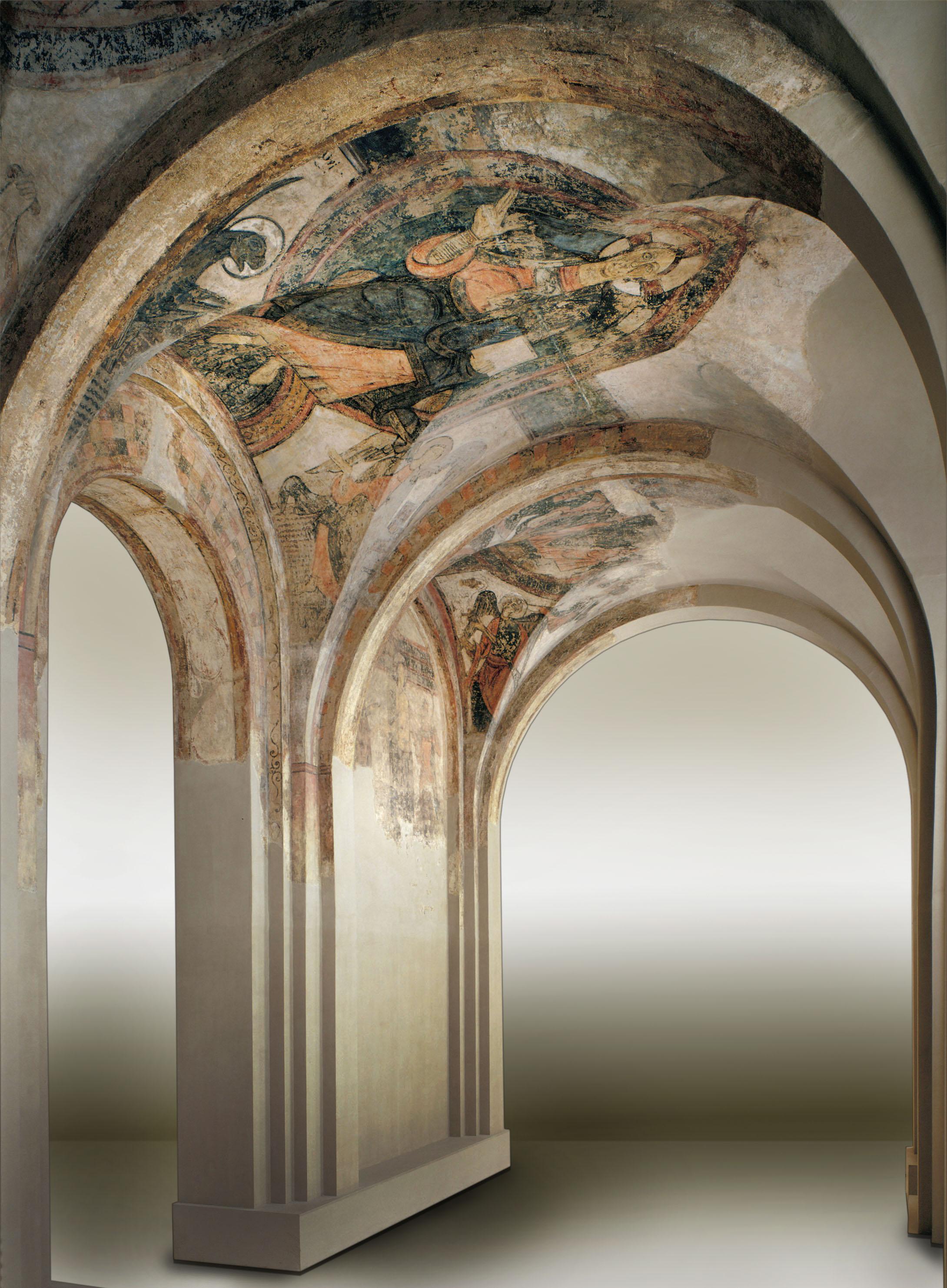 Anònim. Catalunya - Pintures del nàrtex de Cardona - Cap a 1200 [1]