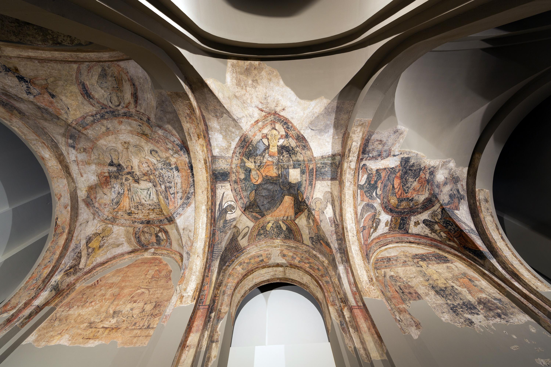 Anònim. Catalunya - Pintures del nàrtex de Cardona - Cap a 1200