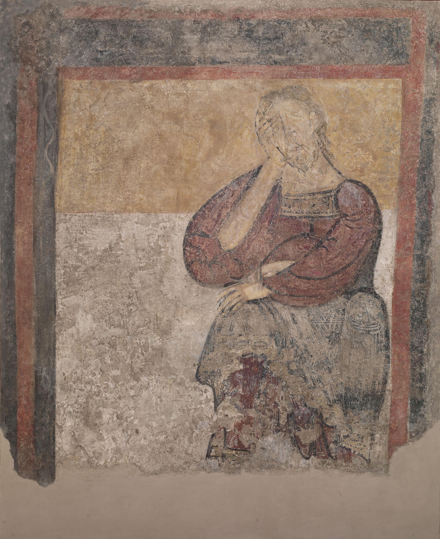 Mestre de Taüll - Home apesarat de Sant Climent de Taüll - Cap a 1123