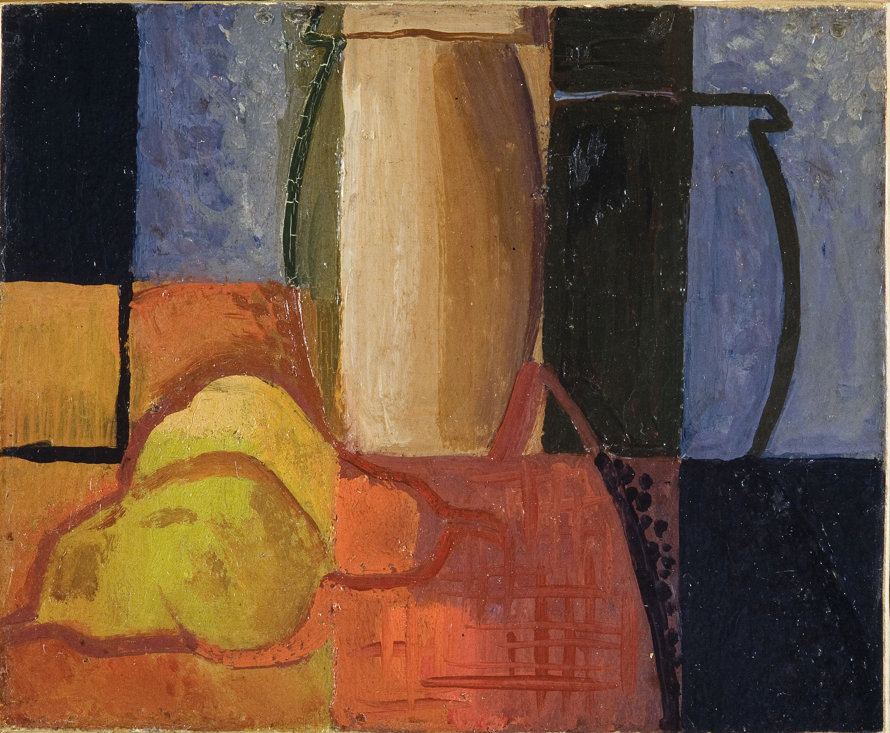 Pere Daura - Still Life with Two Vases and Two Pears - Circa 1929