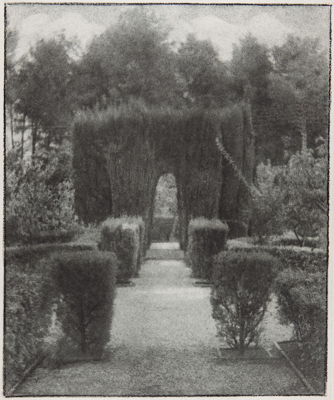 Joaquim Pla Janini - El jardín de la fábrica Guarro - No datat