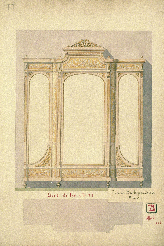 Joan Busquets - Cupboard  - 1906