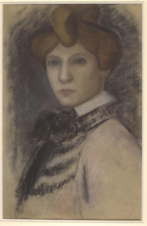 Juli González - Retrat de dona jove - Entre 1914-1918