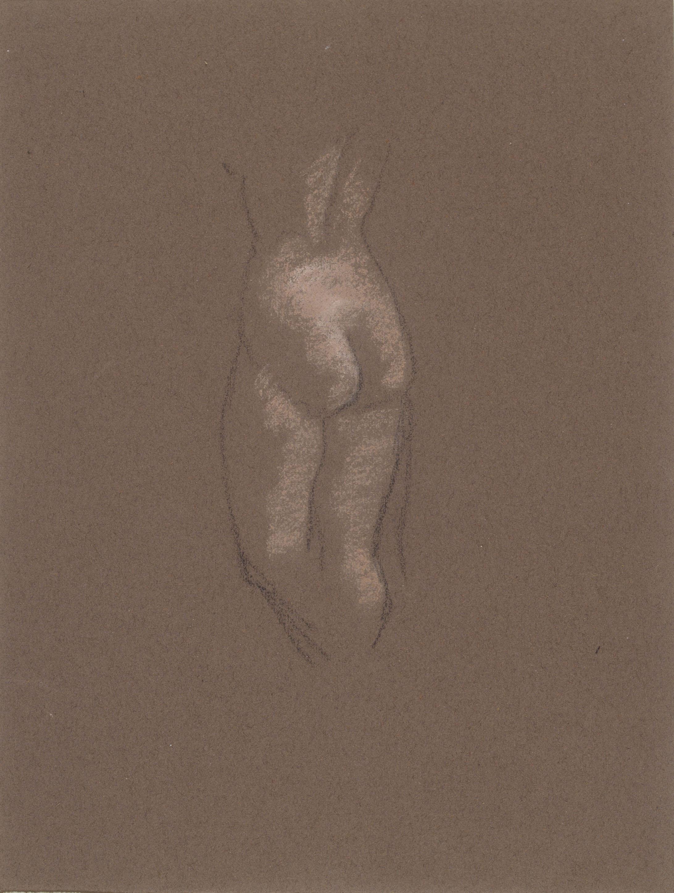Juli González - Estudi de nu - Entre 1914-1918