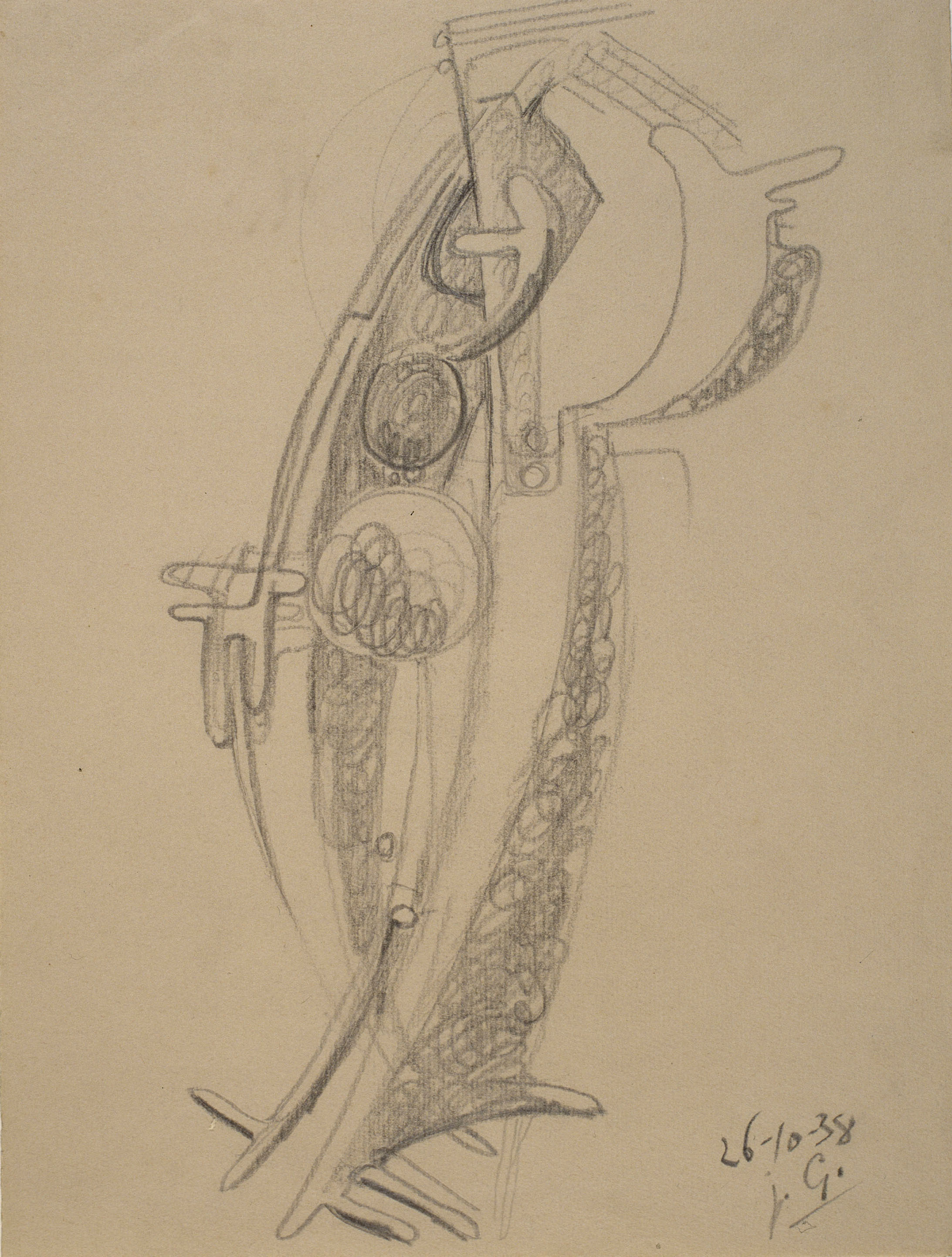 Juli González - Personatge amb boles - 1938