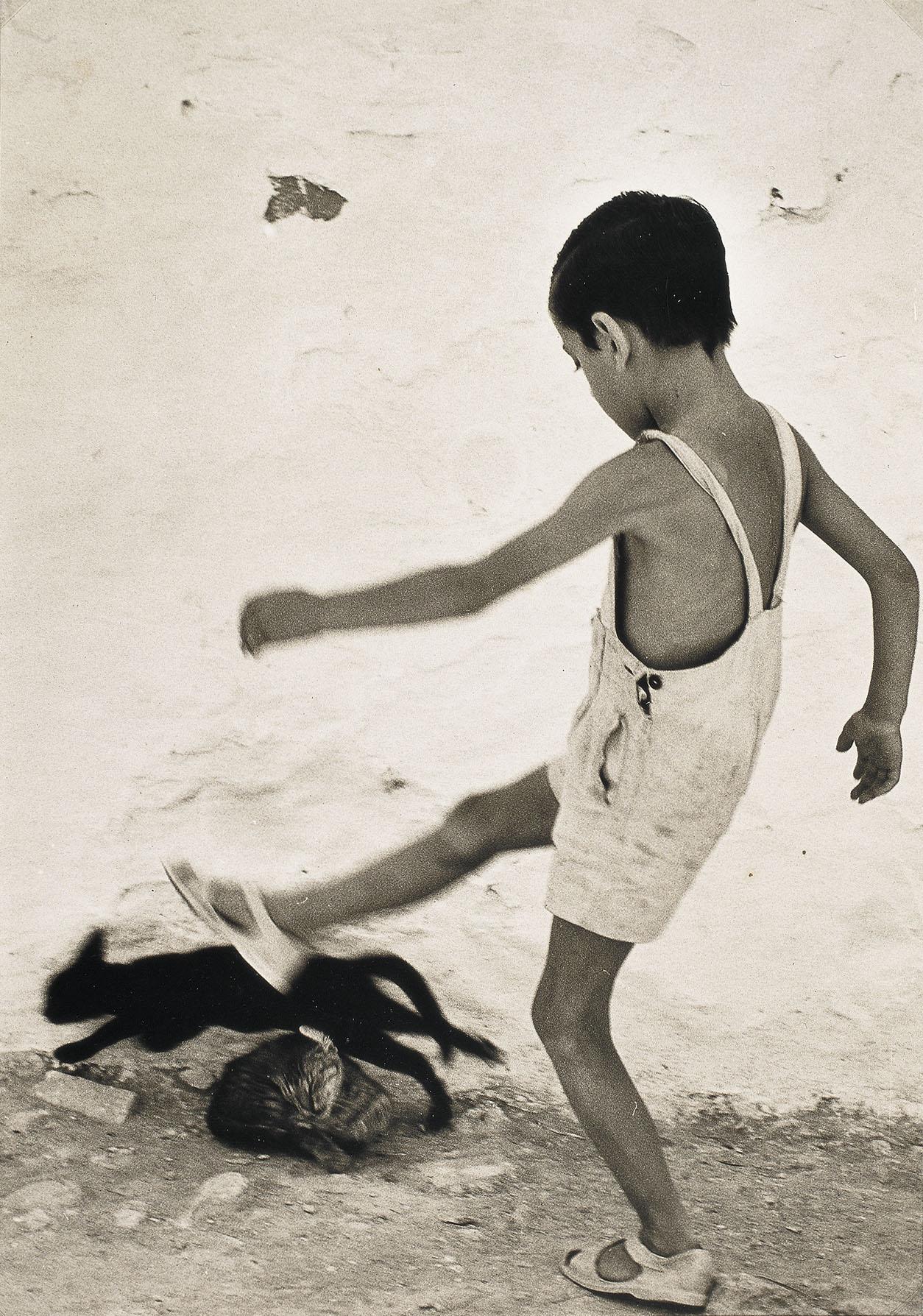 Oriol Maspons - Nen d'Eivissa - 1954