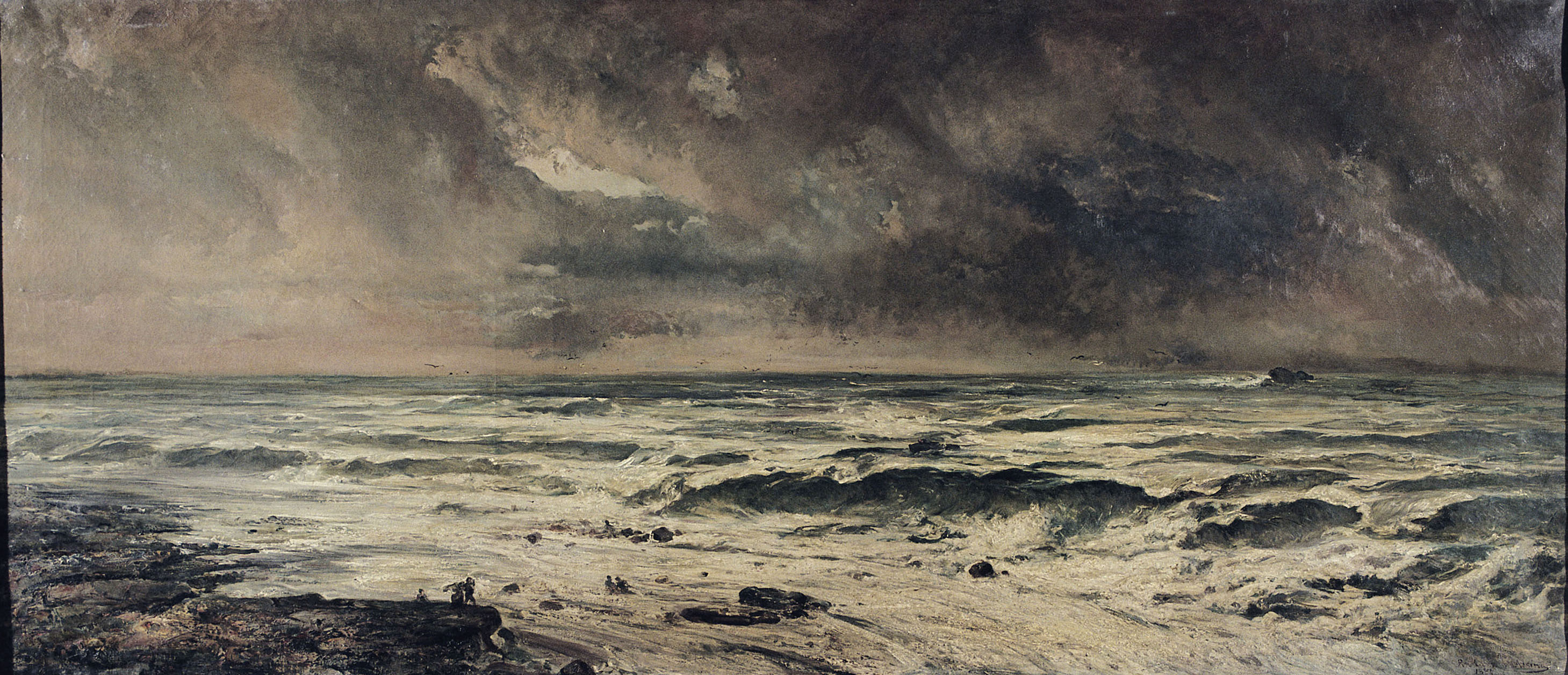 Ramon Martí i Alsina - Naufragi - 1884