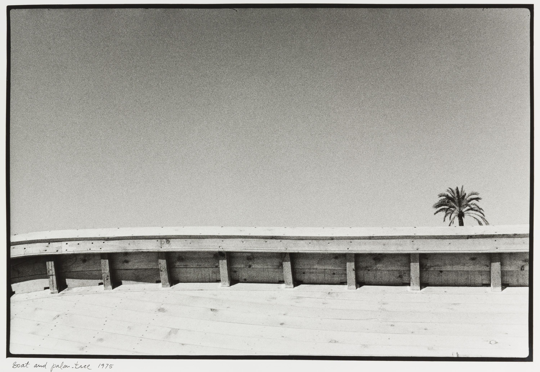 Josep Rigol - Boat and palm-tree (Sitges) - 1975 (tiratge 1981)