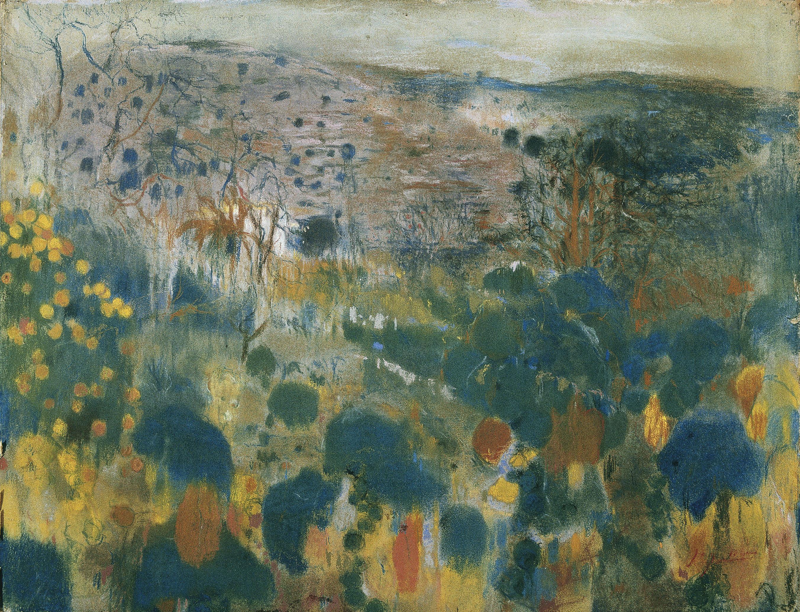 Joaquim Mir - Landscape - Circa 1900-1903
