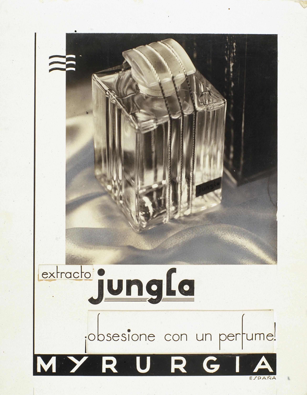 Ramon Batlles - Fotografia publicitària per a Myrurgia. Projecte original per a l'anunci de l'extracte «Jungla» - 1933-1936