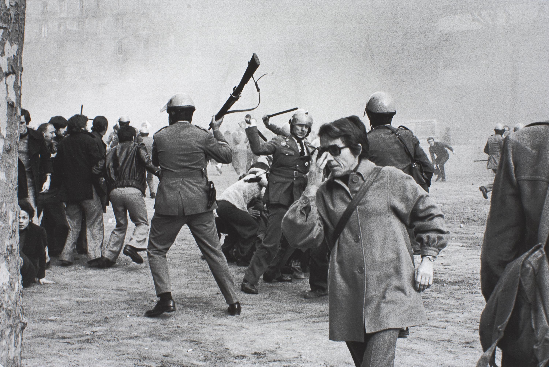 Manel Armengol - Manifestacions de l'1 de febrer de 1976. Convocatòria per: «Llibertat, amnistia, estatut d'autonomia» - Barcelona, 1 de febrer de 1976