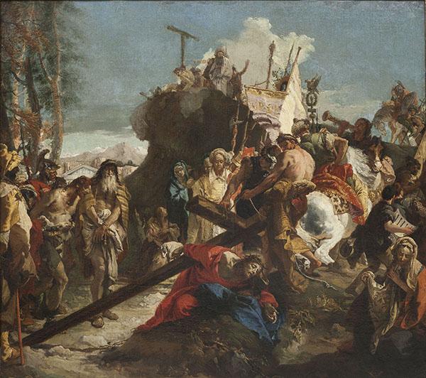 Giambattista Tiepolo - Crist camí del Gòlgota - Posterior a 1738