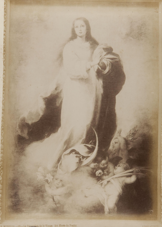 Jean Laurent - B. Murillo. La conception de la Vierge (au Musée du Prado) - Cap a 1865