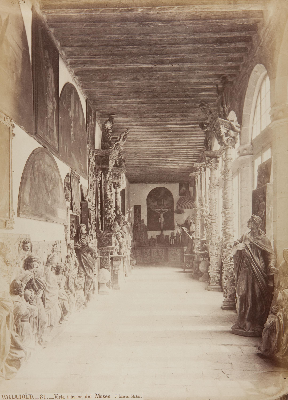 Jean Laurent - Valladolid. Vista interior del Museo - Cap a 1865