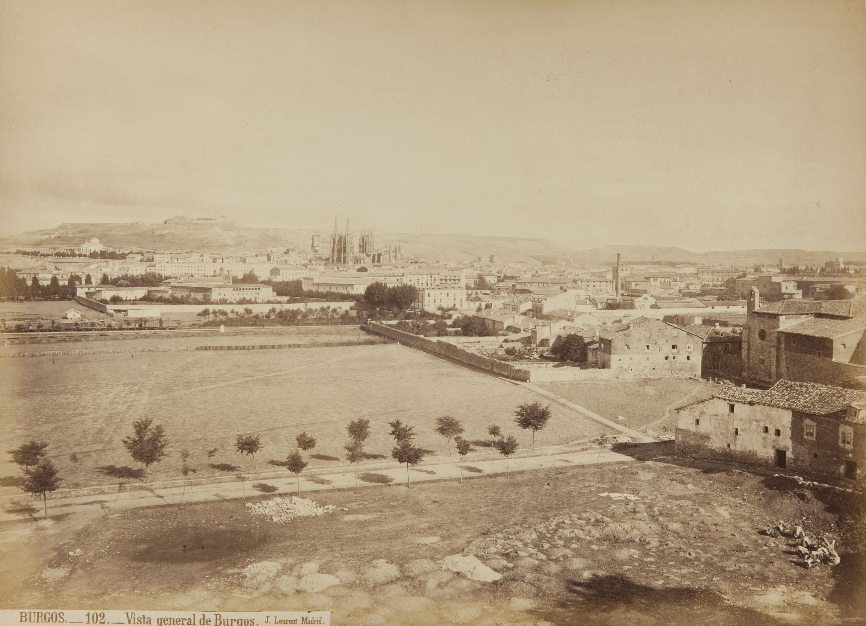 Jean Laurent - Burgos. Vista general de Burgos - Cap a 1865