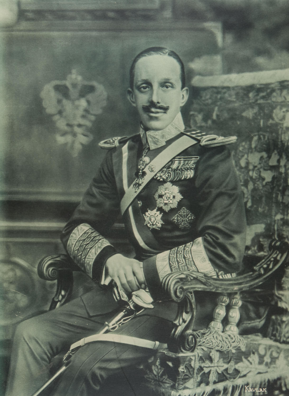 KAULAK - S.M. El Rey don Alfonso XIII - Cap a 1916