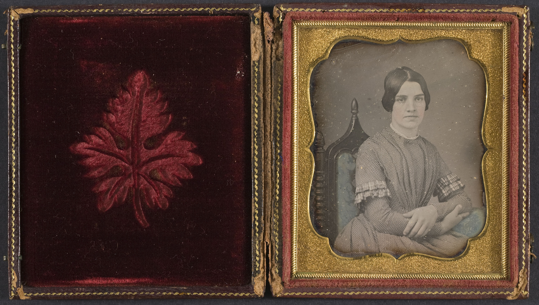 Anònim - Portrait of a woman - 1839-1860