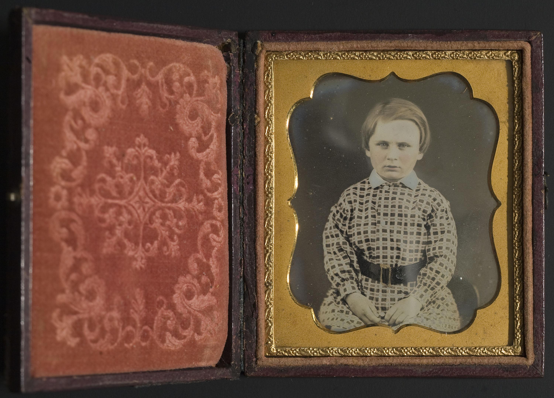 Anònim - Portrait of a child - Between 1839-1860