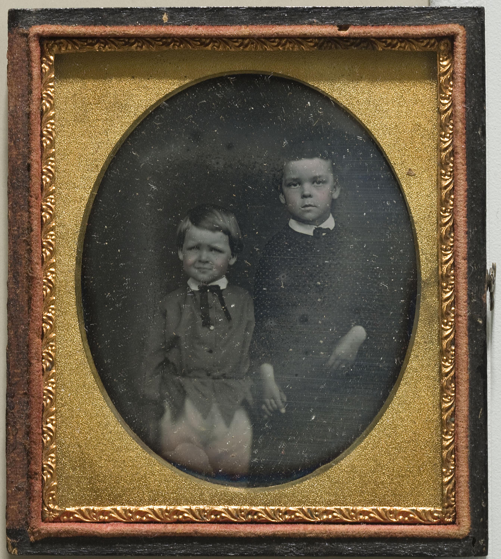 Anònim - Retrat de nens - 1839-1860