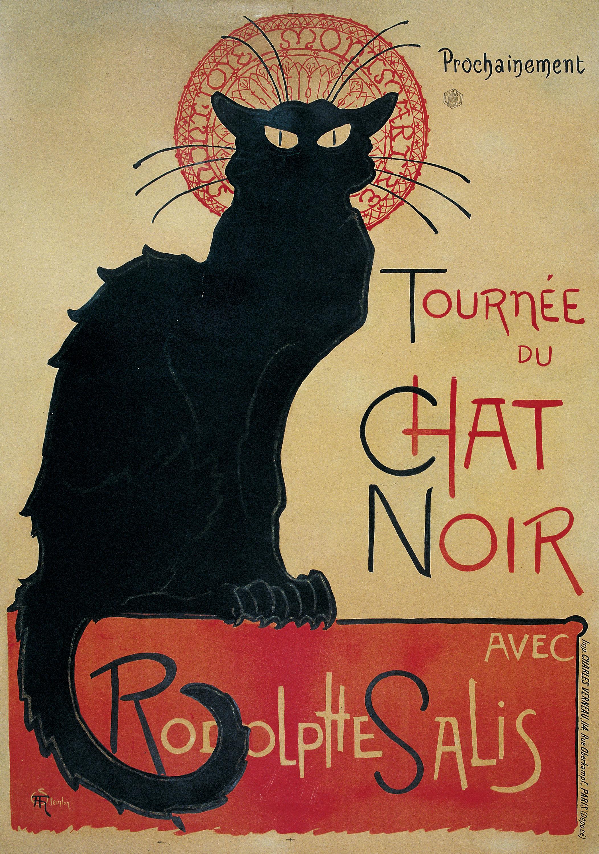 Théophile Alexandre Steinlen - Tournée du Chat Noir - 1896