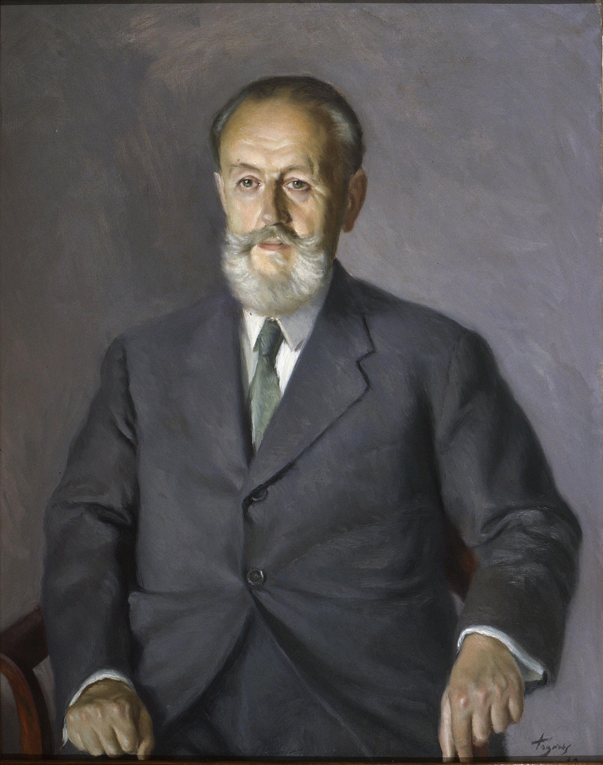 Josep de Togores - Retrat d'Enric Pérez Capdevila - 1943