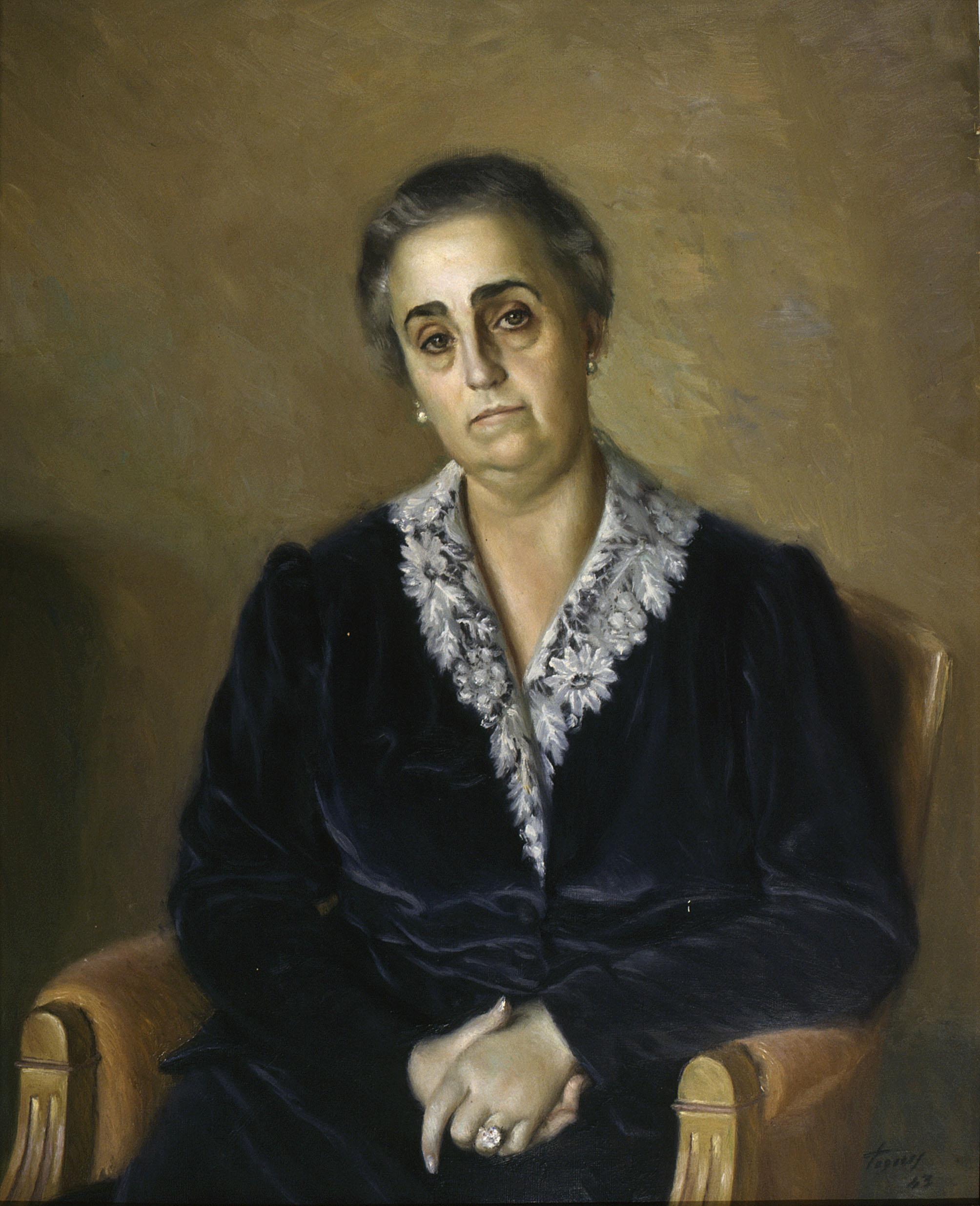 Josep de Togores - Retrat de Coloma Sala i Ardiz - 1943