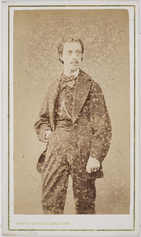 Fotografía Franco Hispano Americano. Barcelona - Portrait of a man - Circa 1860