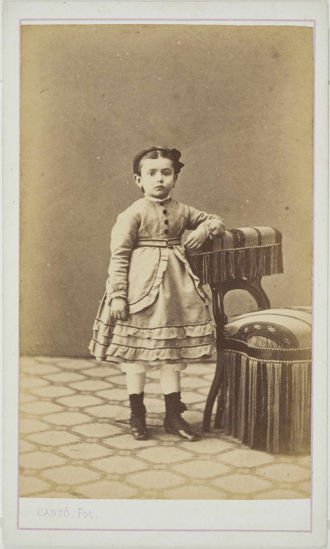 Cantó y Cía. Barcelona - Portrait of a child - Circa 1860