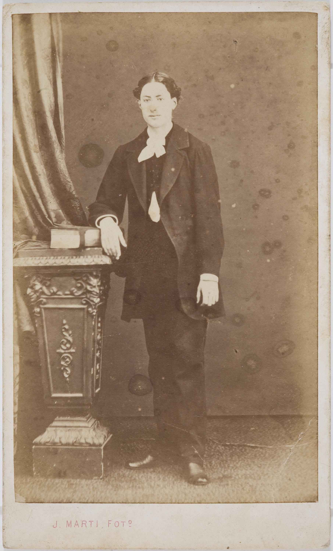 Joan Martí  - Retrat d'home - Cap a 1860
