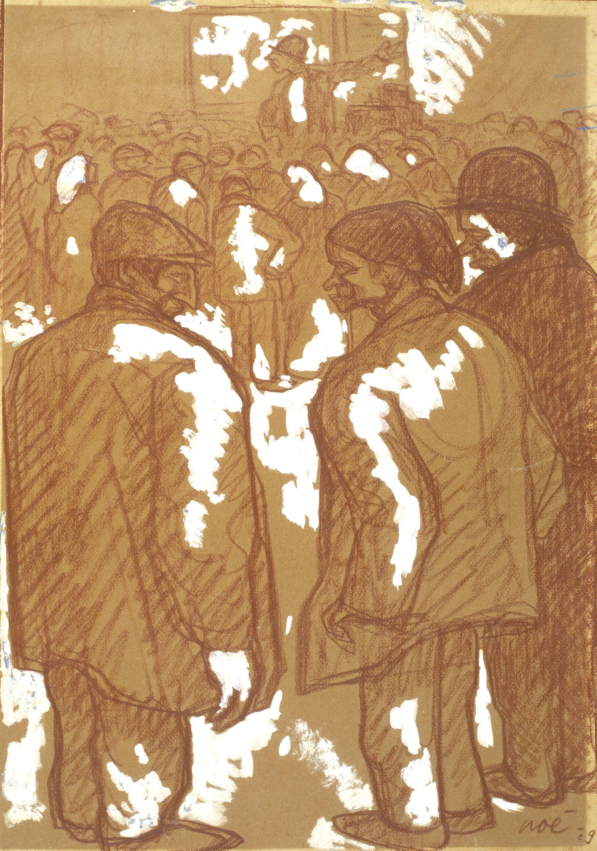 Isidre Nonell - L'arrencaqueixals (El sacamuelas) - 1909
