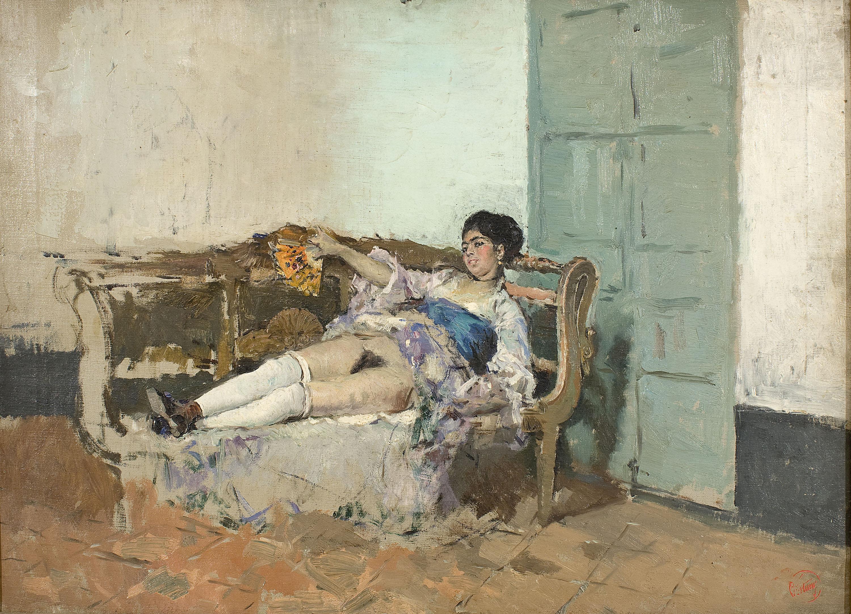 Marià Fortuny - Carmen Bastián - Granada, cap a 1871-1872